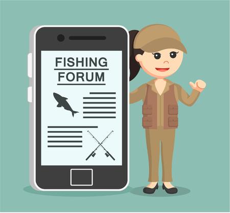 fisher woman fishing forum