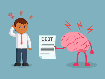 African Business man debt reminded