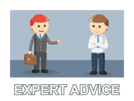 businessman expert advice relationship