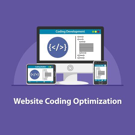 SEO Website coding optimization