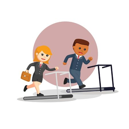 business doing sport vector illustration  イラスト・ベクター素材