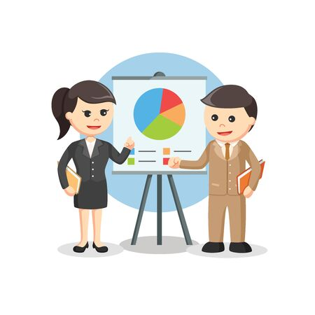 business when leisure time vector illustration