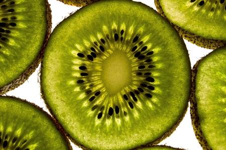 sliced kiwi photo