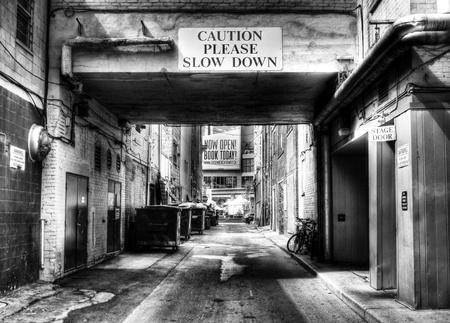 stad passage Stockfoto