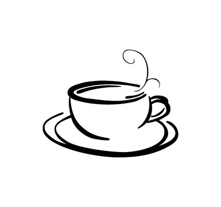 coffee cup vector: Coffee cup illustrazione vettoriale