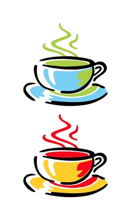 coffee cups: Coffee cups Illustration