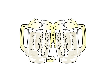 beer mugs: Beer mugs