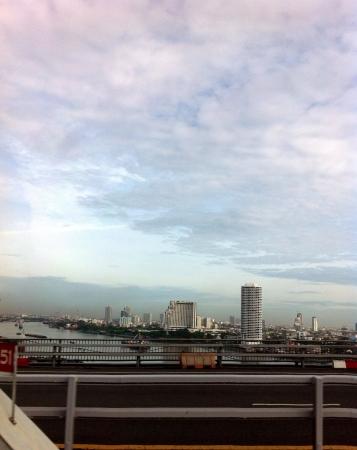 phraya: chao phraya river bangkok Stock Photo