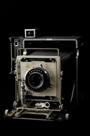 graphic: Vintage Crown Graphic 4 X 5 Camera