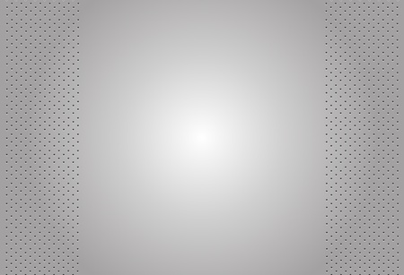 perforated surface: perforated metal vector background