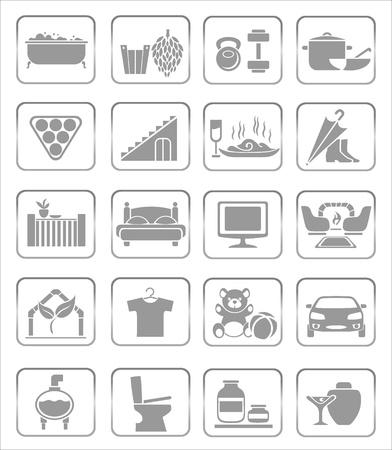 gym room: Iconos de interiores
