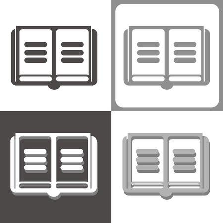 periodicals: book vector icon