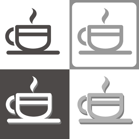 teacups: cup vector icon