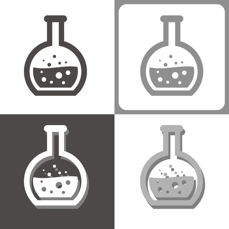 chemistry tube vector icon Stock Vector - 20038087