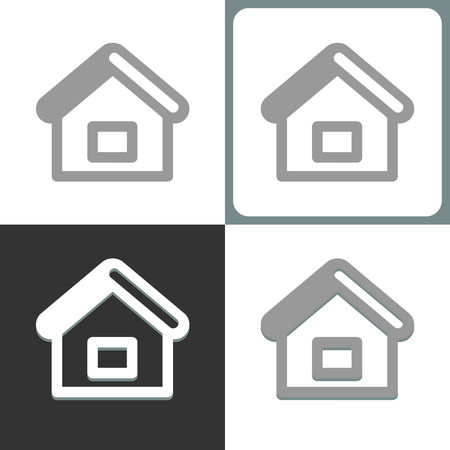 homepage or house icon