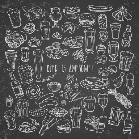 cerveza vagos y aperitivos