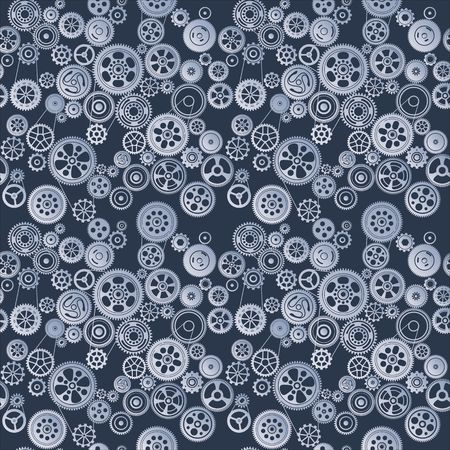 seamless background with cogwheels and gears vector illustration