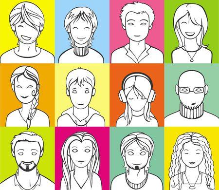unrecognizable people: unrecognizable people faces