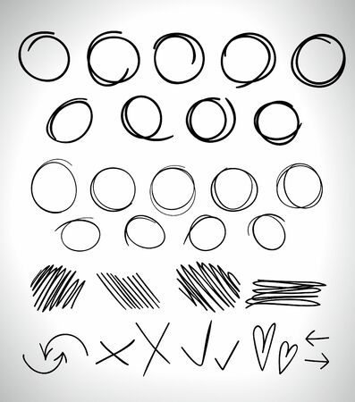 highlight: highlight circles, different marks and elements