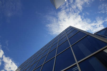 high angles: new office building in business center