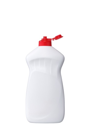 Detergent on a white background, isolated. photo