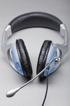 Headphones with a microphone photo