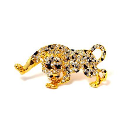 Brooch Leopard Stock Photo - 3759463