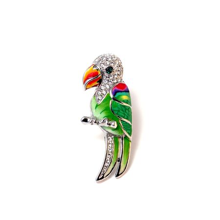 Brooch Parrot Stock Photo - 3759461