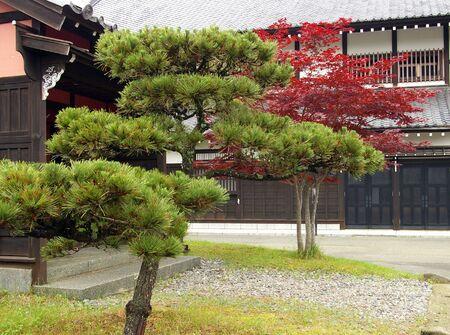 Village Samurai.Japan,island Hokkaido   photo