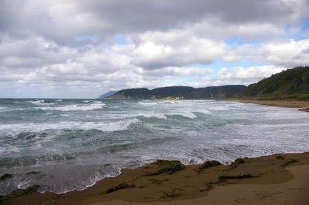 insular: seaside of the island Kunashir. Kurily   Stock Photo