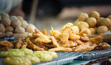 bananas fries Stock Photo
