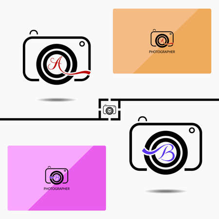The design of the camera logo. Could be used as a photographer's identity