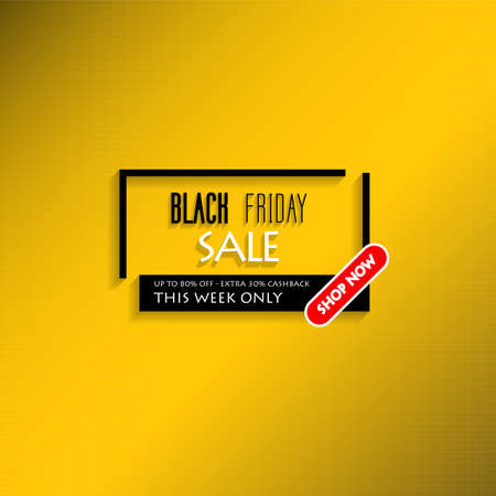 background design illustrations with black Friday theme sales can be used for banners, leaflets, posters, brochures, website displays, online stores, promotions, applications, product sales
