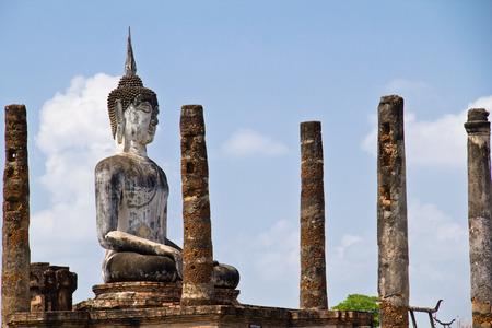 buddhismus: Buddha im Geschichtspark Sukhothai, Thailand