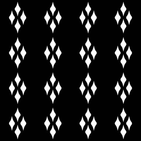 Abstract patterns in the form of a  rhombus.