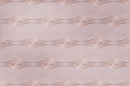 rose gold seamless texture. gradient Shine from geometric patterns in a minimalist style. a figure of wavy lines. abstract geometric shapes for design, paper, business ideas.