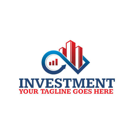 investment Logo Template 向量圖像