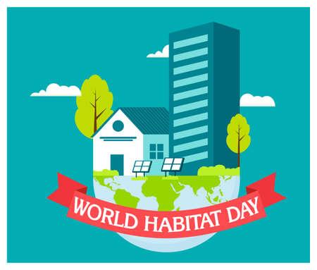 World Habitat Day and building flat