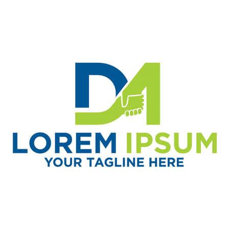 Deals Maker, letter DM logo