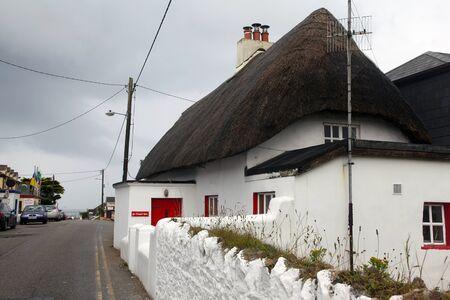 traditional Irish house in Kilmore Quay in Ireland