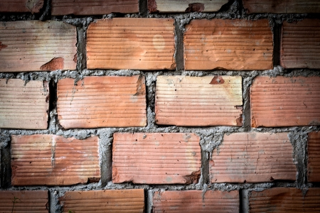 Detail view of a brick wall Imagens