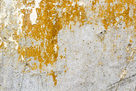 Old concrete wall in detail