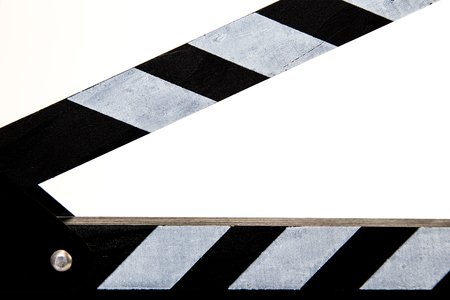 Clapperboard with detail view
