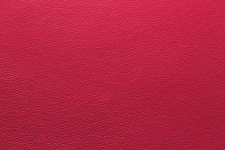 Red leather with texture structure