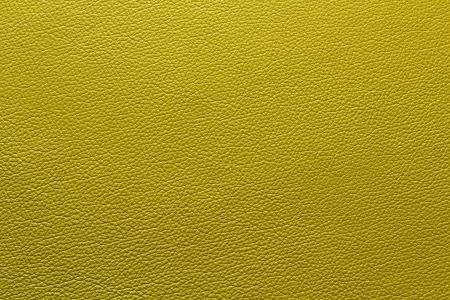 Yellow leather with texture structure
