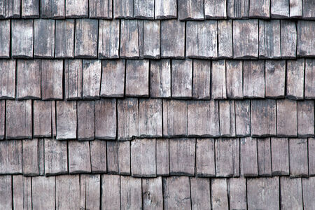 Old wooden house wall Imagens