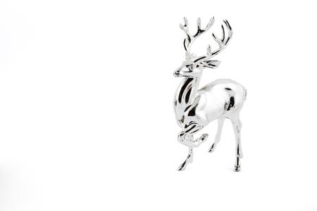 Silver decoration deer
