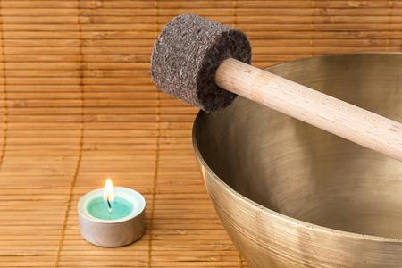 Singing bowle Imagens
