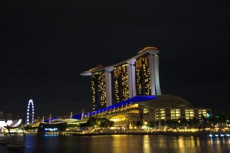 marina bay sand  in  singapore
