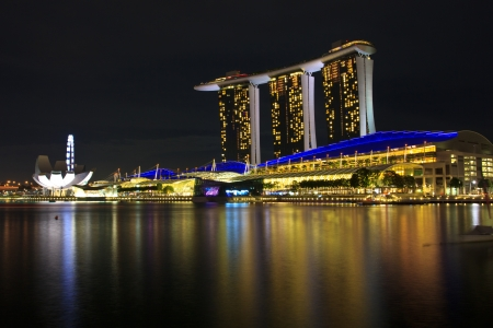 marina bay sand  in  singapore Stock Photo - 18222255